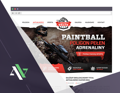 Poligon Delta - Paintball website