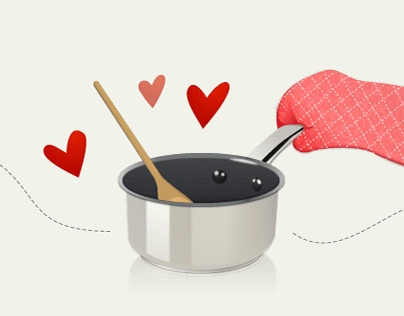 Organize Your Cooking Interactive Graphic