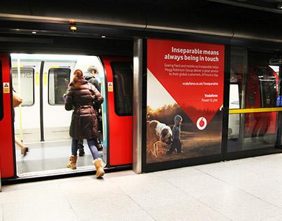 Vodafone Inseparable Campaign Q3