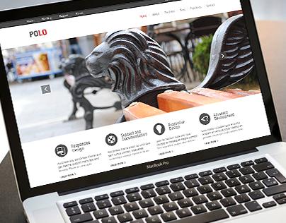 Polo Theme. Responsive site design