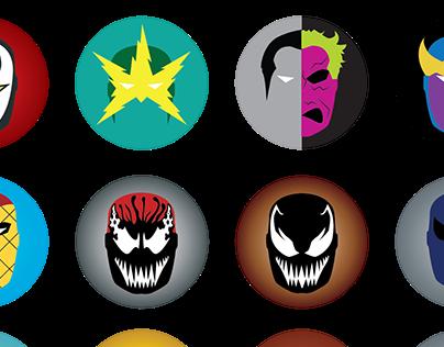 Comic Masks - Series 2