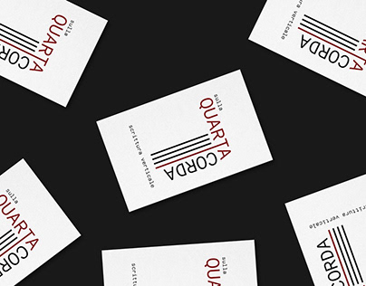 Visual Identity for a literary magazine