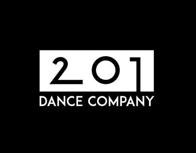 201 Dance Company - Logo design
