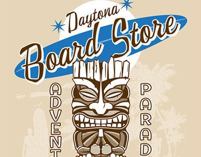 Daytona Board Store Old School Tiki Design