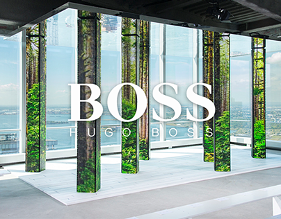 HUGO BOSS FASHION SHOW
