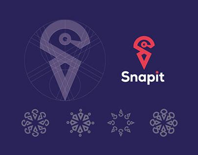 SNAPIT ( logo & visual identity )