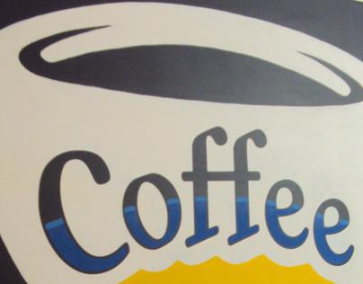 Snarf's coffee bar sign