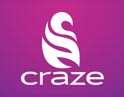 Craze Yogurt Lounge Re-Branding