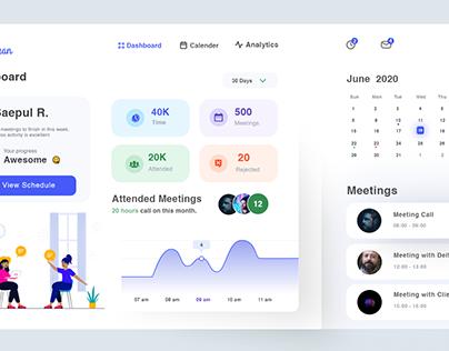 Schedule Dashboard Design v1