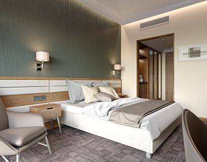 Hotel Room with Corona