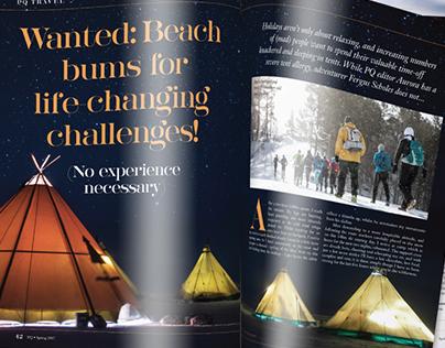 Polo Quarterly magazine design