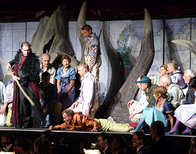 Props and scenic painting for Swiss Opera Festival