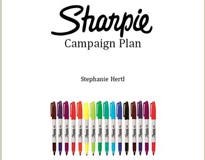 Sharpie: Creative Brief & Mini Advertising Campaign