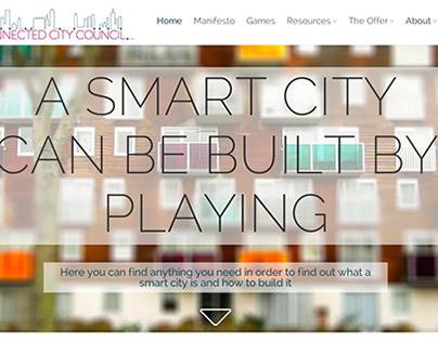 Connect City Council. Web design