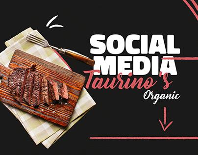 Social Media / Taurino's Organic
