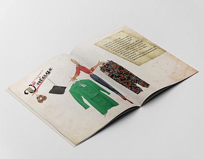 Brochure / Shopper / Artigianato e Vintage