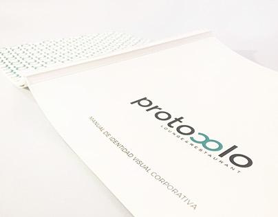 CORPORATE IDENTITY MANUAL 'Protocolo'
