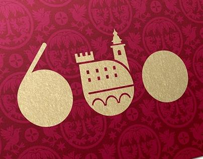 600th Anniversary Logo