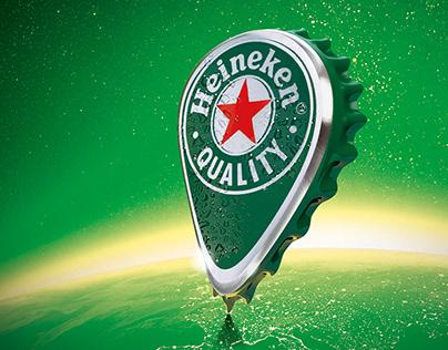 Heineken - Campagne promo - Open your World