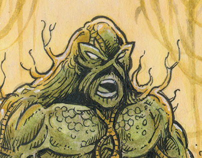 "DC Comics: ""Epic Battles"" Sketch Cards"