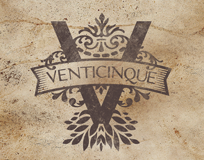 Logo Designed for the Venticinque Family