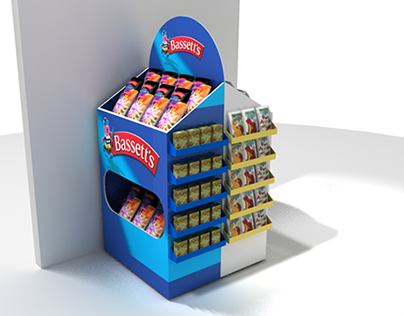 Cadbury POS Displays design