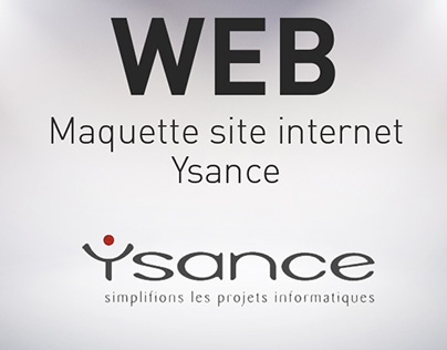WEB / Redesign Ysance