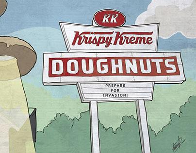 Donut Invasion