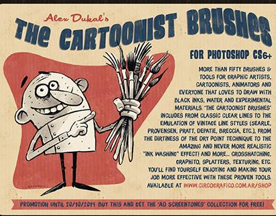 The Cartoonist Brushes