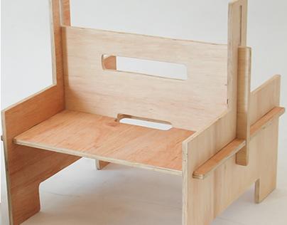 Ms. Cin - Cadeira Infantil Modular