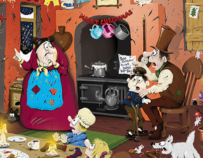 Wasgij - Scrooge's Surprise