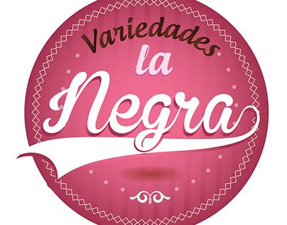 Logo Variedades la Negra