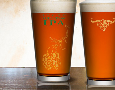In-house Artwork and Merchandise STONE BREWING CO.