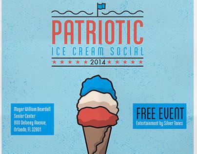 Patriotic Ice Cream Social