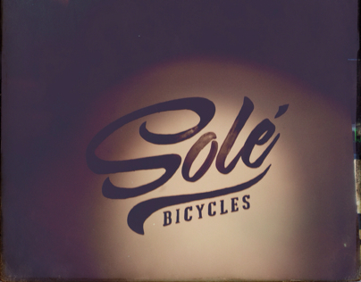 Sole Bicycle sign painting
