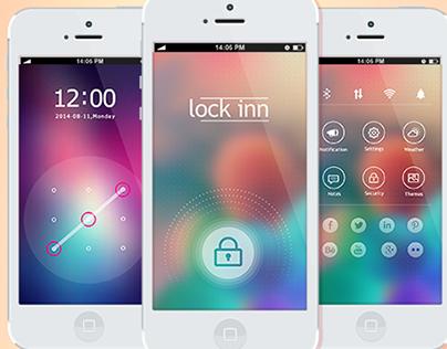 Lockin- Mobile App UI