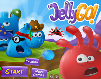 Jelly Go- Iphone/Android Mobile Game design