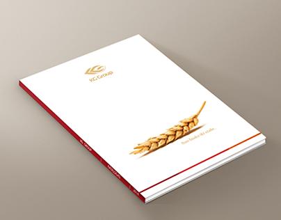 KG Group Catalog and Brochure Design