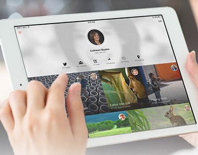 Crispy For Tablets - Flat & Fresh iOS7 Ui