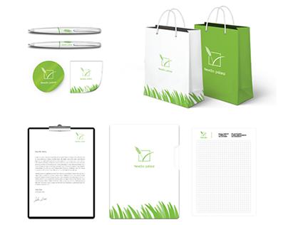 Nevėžio Pašarai Logo, Brandbook, Responsive Website