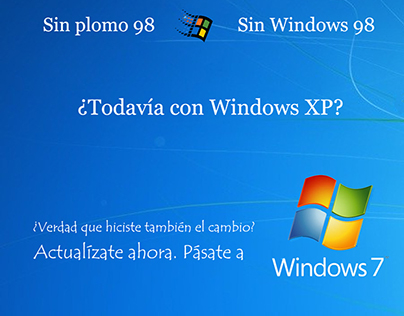 "Copy ""Actualiza a Windows 7"" (Upgrade to Windows 7)"