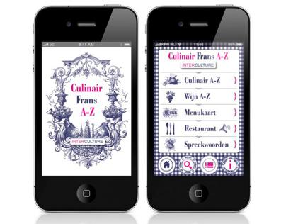 Culinair Frans Iphone App.