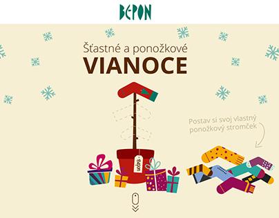 Christmas campaign 2015 - BEPON