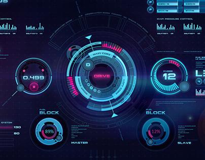 Space ship virtual interface Nemesis D5