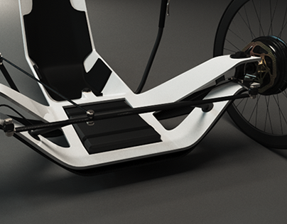 Electric recumbent trike concept