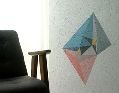 Geometric painting #2 100x75