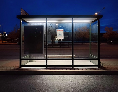 Bus Stop - Aesthetic of Waiting