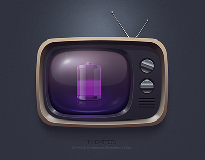 TV&Battery Icon (practice)