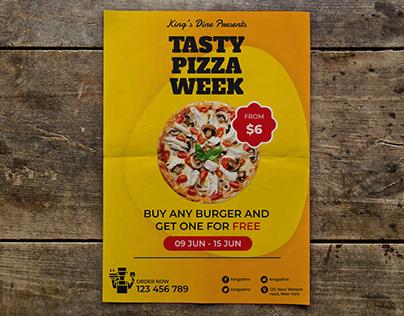 Food Promotion Flyer