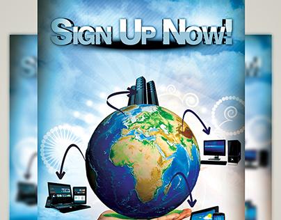 Web Hosting Flyer